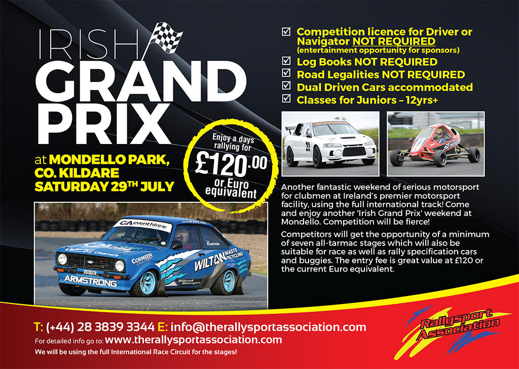 Irish Grand Prix Mondello July 2017