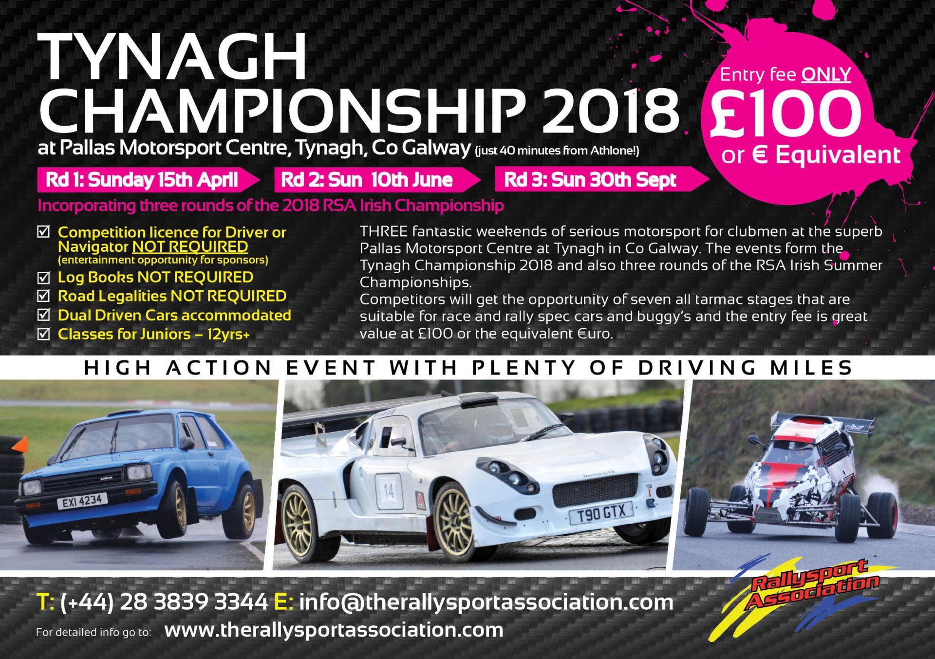 Rallysport Association RSA Tynagh Championship 2018