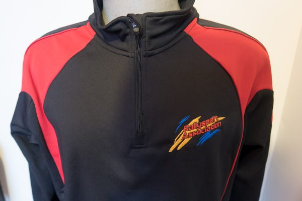 RSA Rallysport Association Quarter Zip Jacket